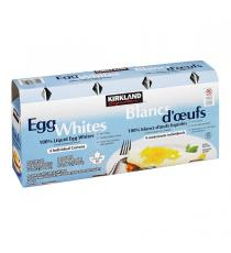 Kirkland Signature Egg Whites, 4 x 500 g