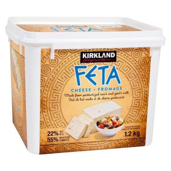 Kirkland Signature Feta Cheese 1.2 kg