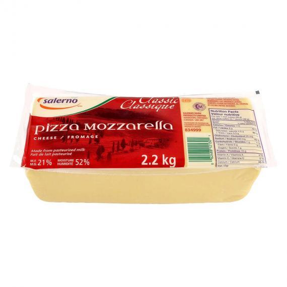Salerno Pizza Mozzarella, 2.2 kg