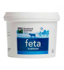 Shepherd Gourmet Dairy Feta Traditional, Cheese 3 kg