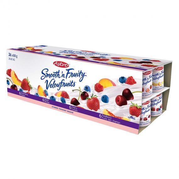 ASTRO Fruit Yogurt, 24 x 100 g
