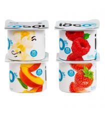 IOGO Yogurt 0%, 24 x 100 g