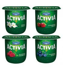 DANONE ACTIVIA Probiotiques du Yogourt, 24 x 100 g