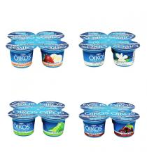 DANONE OIKOS Greek Yogurt 3%, 24 x 100 g