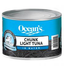 Oceans Chunk Light Tuna in Water 1.88 kg