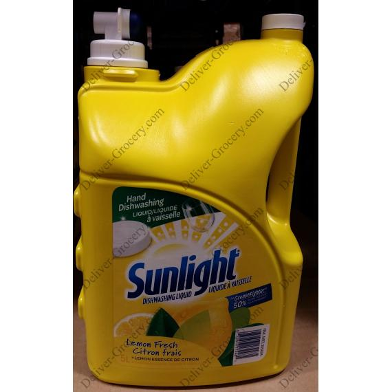Sunlight Hand Dishwasher Liquid 5 L