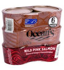 Oceans Wild Pink Salmon 6 x 213 g
