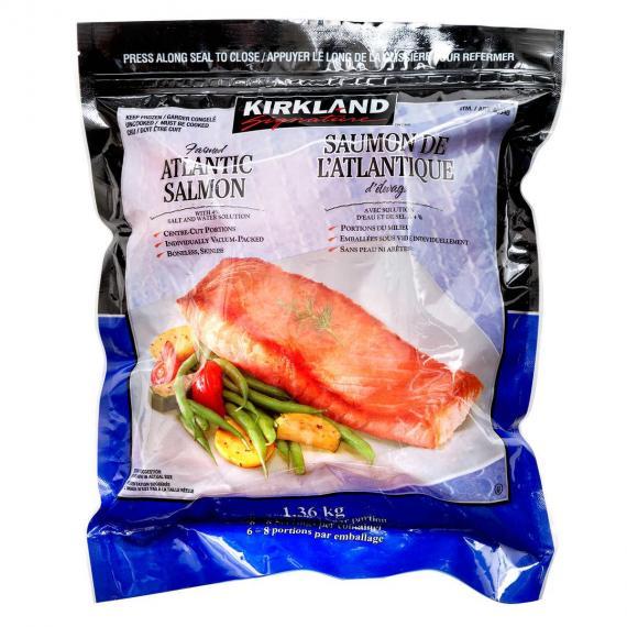 Kirkland Signature Atlantic Salmon, 1.36 kg