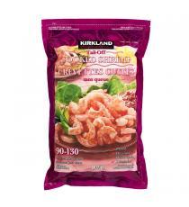 Kirkland Signature - Crevettes cuites sans queue exemptes de produits chimiques 90 - 130 907 g