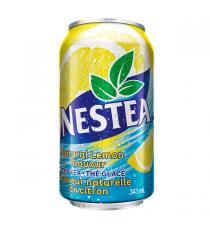 Nestea Natural Lemon Flavour Ice Tea Cans, 24 x 341 ml