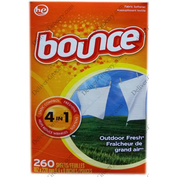 Bounce Fabric Softener 260 sheets