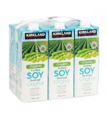 Kirkland Signature Organic Fortified Soy Beverage 6 x 946 ml