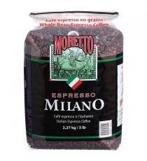 Moretto Ensemble De La Fève De Café Expresso Milano 2.27 Kg