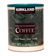 Kirkland Signature Decaffeinated Coffee 1.36 kg