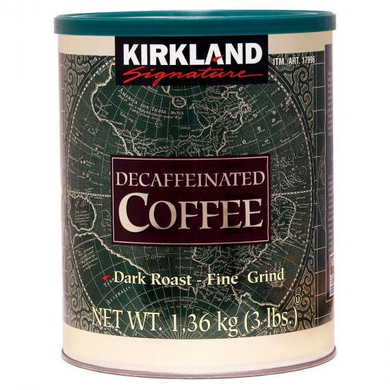 Kirkland Signature Decaffeinated Coffee 1.36 kg