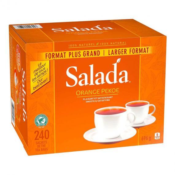 Salada Thé Orange Pekoe 240 Sachets de Thé - 696 g
