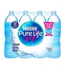 Nestlé Pure Life %100 Natural Spring Water 12 x 1.5 L