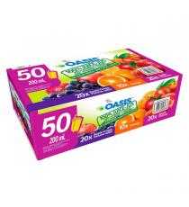 Oasis Assortiment de Jus, 50 x 200 ml