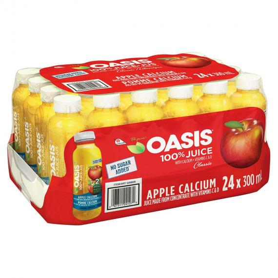 Oasis Apple Juice, 24 x 300 ml