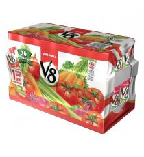 V8 de Légumes Cocktail, 36 x 156 ml