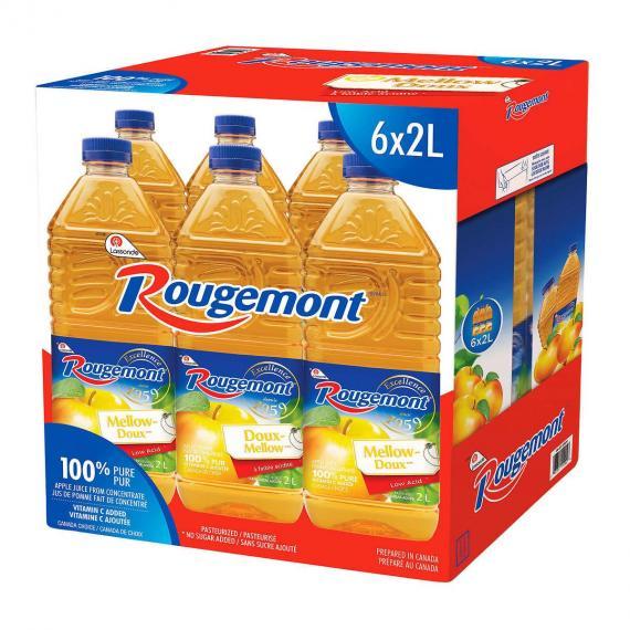 Rougemont Apple Juice 6 x 2 L