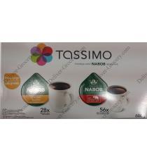 Tassimo Nabob coffee, 84 discs, 686 g