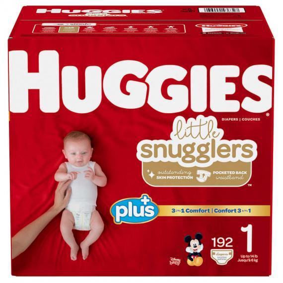 Huggies Diapers, 192 x