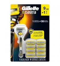 Gillette Proshield - Rasoir avec 9 Cartouches