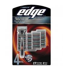 Edge - rasoir + 17 cartouches