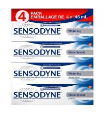 Sensodyne - Pâte dentifrice blanchissante 4 x 145 ml