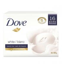 Dove White Soap Bar, 16 x 106 g