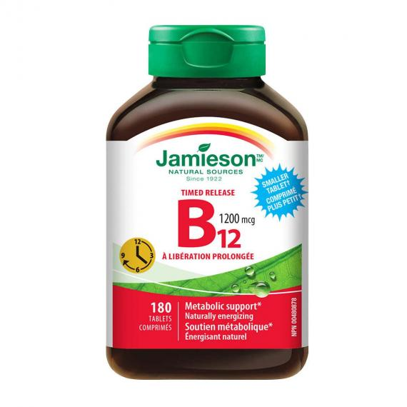 Jamieson Vitamin B12, 180 tablets