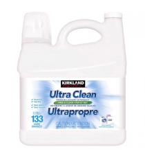 Kirkland Signature Free and Clear Ultra Clean Liquid Laundry Detergent, 133 Wash Loads 5.99 L