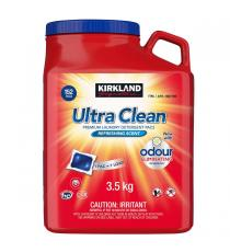 Kirklnad Ultra Clean Laundry Detergent Pack, 152 pods, 3.5 kg