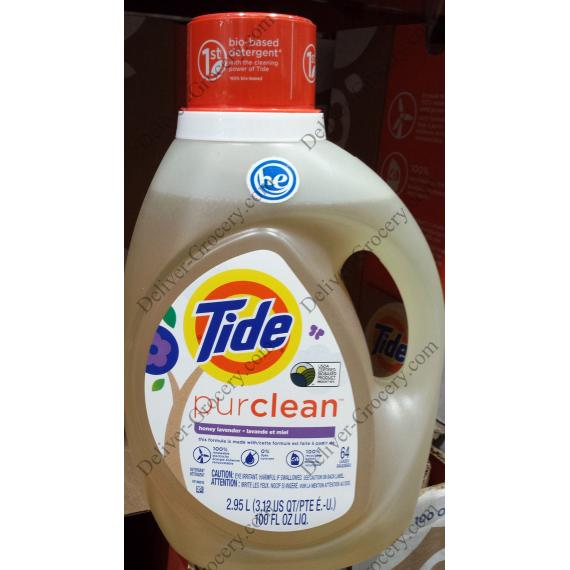 Tide Pure Clean Laundry Detergent, 2.95 L