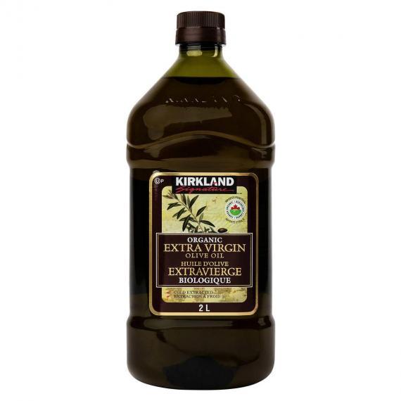 Kirkland Signature Extra Virgin Organic Olive Oil, 2 L