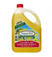 Saporito Canola Oil, 5 L