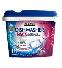 Kirkland Signature Dishwasher Pacs 1.95 kg