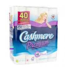 Papier hygiénique Cashmere Premium à 2 épaisseurs, 40 pièces