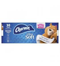 Charmin Ultra Soft 2-ply Bathroom Tissue, toilet paper, 214 Sheets 30-pack