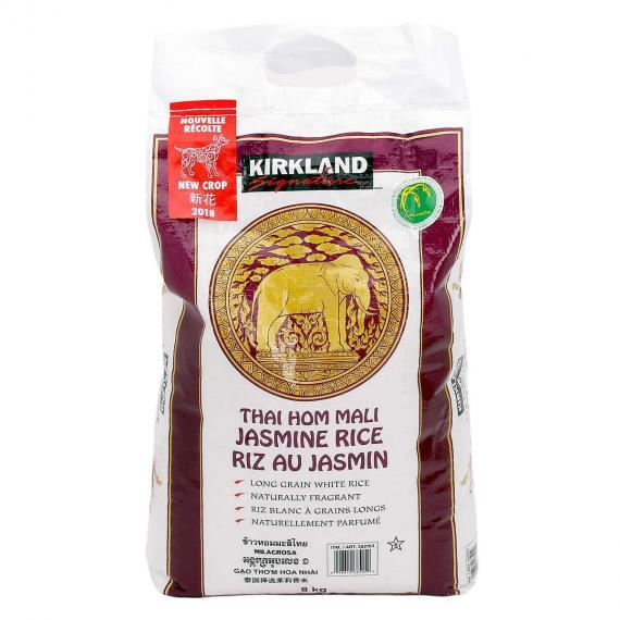 Kirkland Signature Thai Hom Mali Jasmine Rice, 8 kg