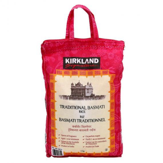 Kirkland Signature Traditional Basmati Rice 5 kg