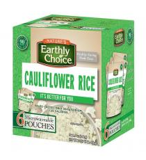 Nature Earthly Choice Cauliflower Rice, 6 x 241 g