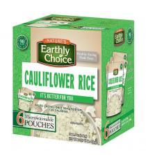 Nature Earthly Choice Cauliflower Rice, 6 x 241 g