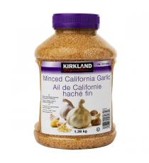 Kirkland Signature Minced California Garlic 1.36 kg