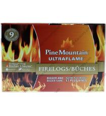 PineMountain Ultraflame Fireloges 9 x 3 heures de 19,6 kg