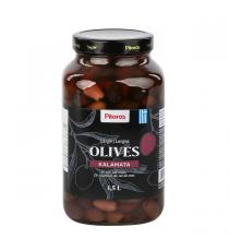 Pilaros Kalamata Whole Olives, 1.5 L