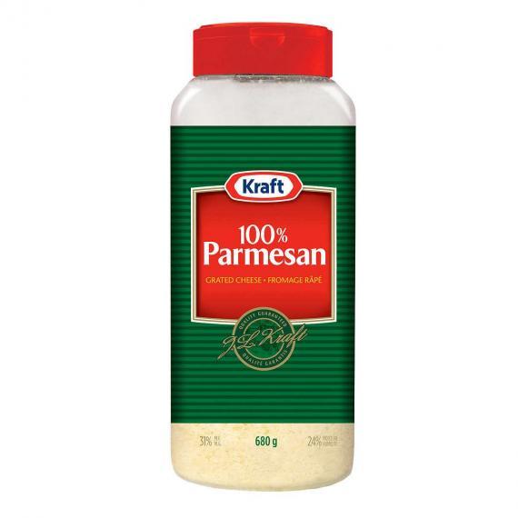 Kraft Parmesan Râpé, de 680 g