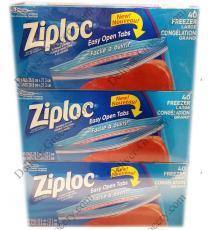Ziploc 3 x 40 Large Freezer Bags