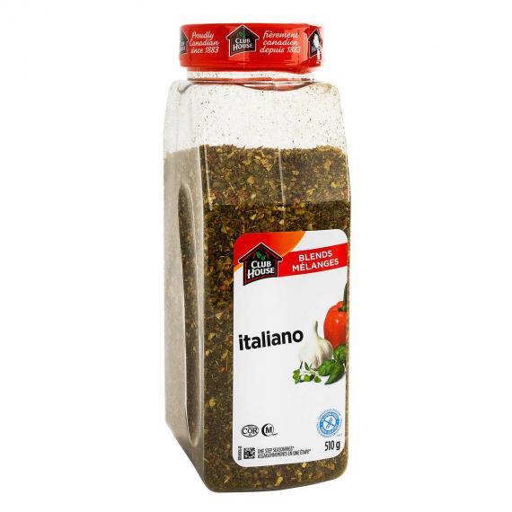 Club House Signature Blends Italiano Seasoning, 510 g